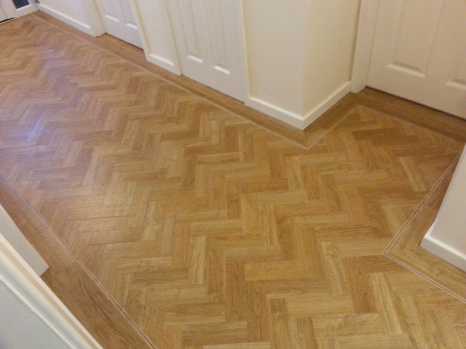 Amtico Signature – American Oak Herringbone with Tramline ...